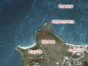 Snorkeling Map of Baie Maria, Saint Martin