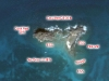 Snorkeling Map of Creole Rock, Saint Martin