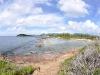 Pointe du Bluff, Seen from Le Trou de David